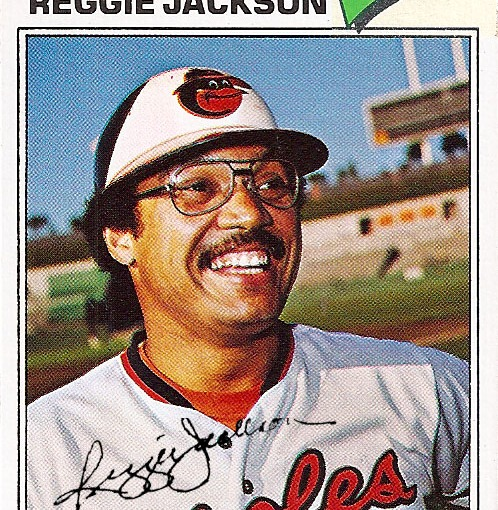 Long Lost Reggie Jackson Baseball Card