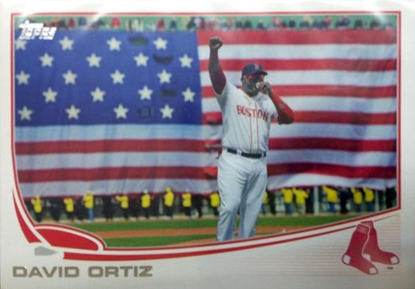 Red Sox Celebrate David Ortiz; Collectors Celebrate Unique Big Papi BaseballCards