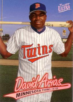 The Mystery Surrounding David Ortiz Arias Rookie Baseball Cards