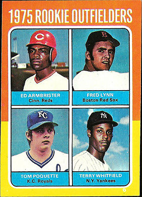 Looking at 1975 World Series Through Red Sox and Reds 1975 Topps Set